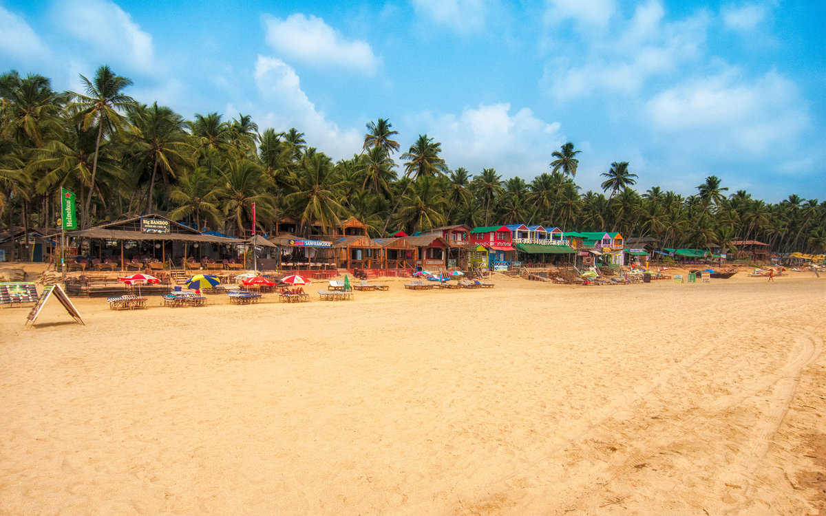 Лучшие пляжи Южного Гоа 25