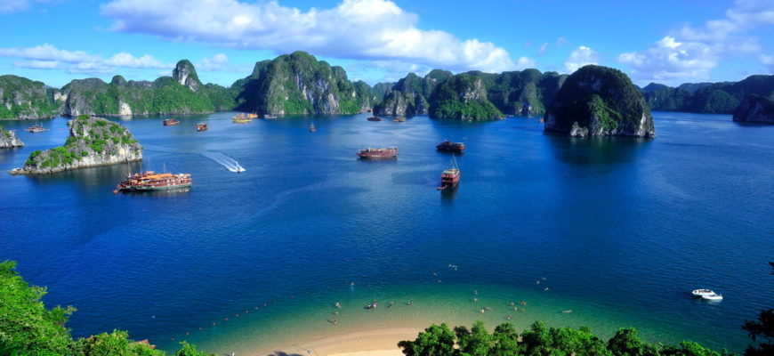Пляжи Вьетнама 2019 1
